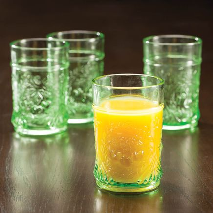 Pressed Juice Glasses by William Roberts™, Set of 4-366663