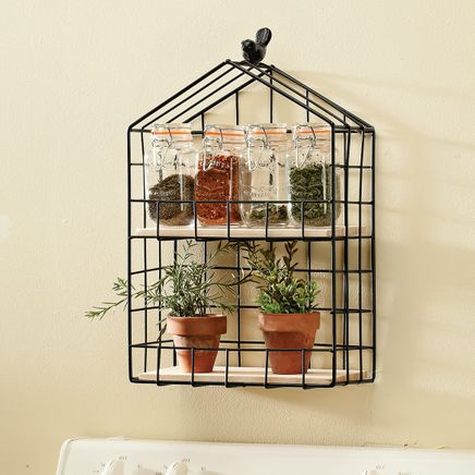 William Roberts Hanging Herb & Spice Rack-366664
