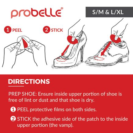 Probelle® 90 Day Shoe Deodorant Patches-366692