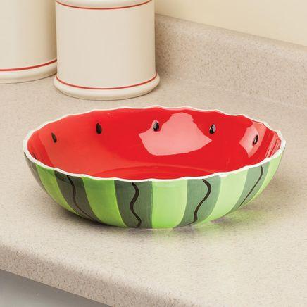 "William Roberts 12"" Watermelon Serving Bowl-366959"