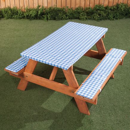 Deluxe Picnic Tablecover with Cushions by HSK-366978
