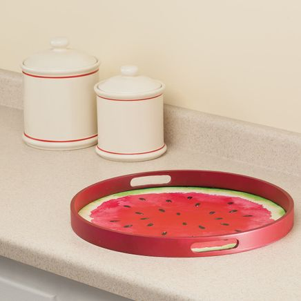 """William Roberts 15"""" Watermelon Serving Tray-367144"""