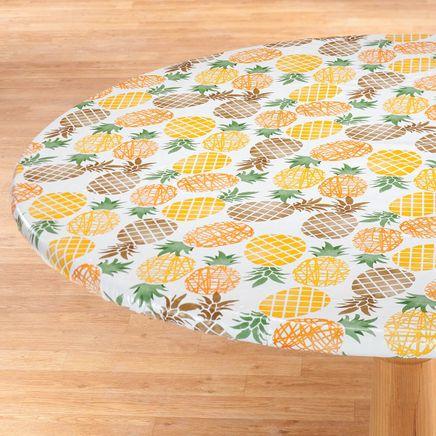 Pineapple Elasticized Vinyl Table Cover-367203