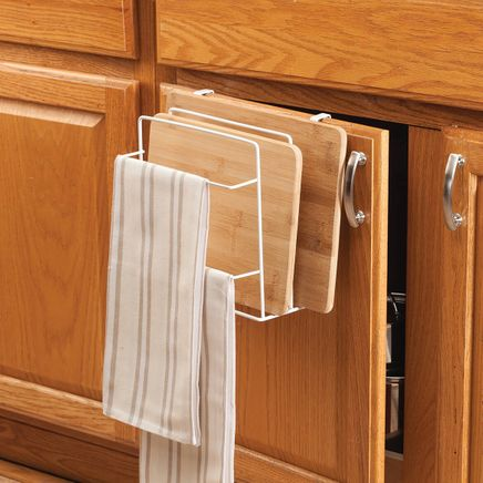 Metal Cutting Board Rack by Home-Style Kitchen™-367331