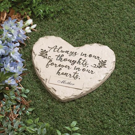 "Personalized ""Forever in our Hearts"" Memorial Stone-367364"