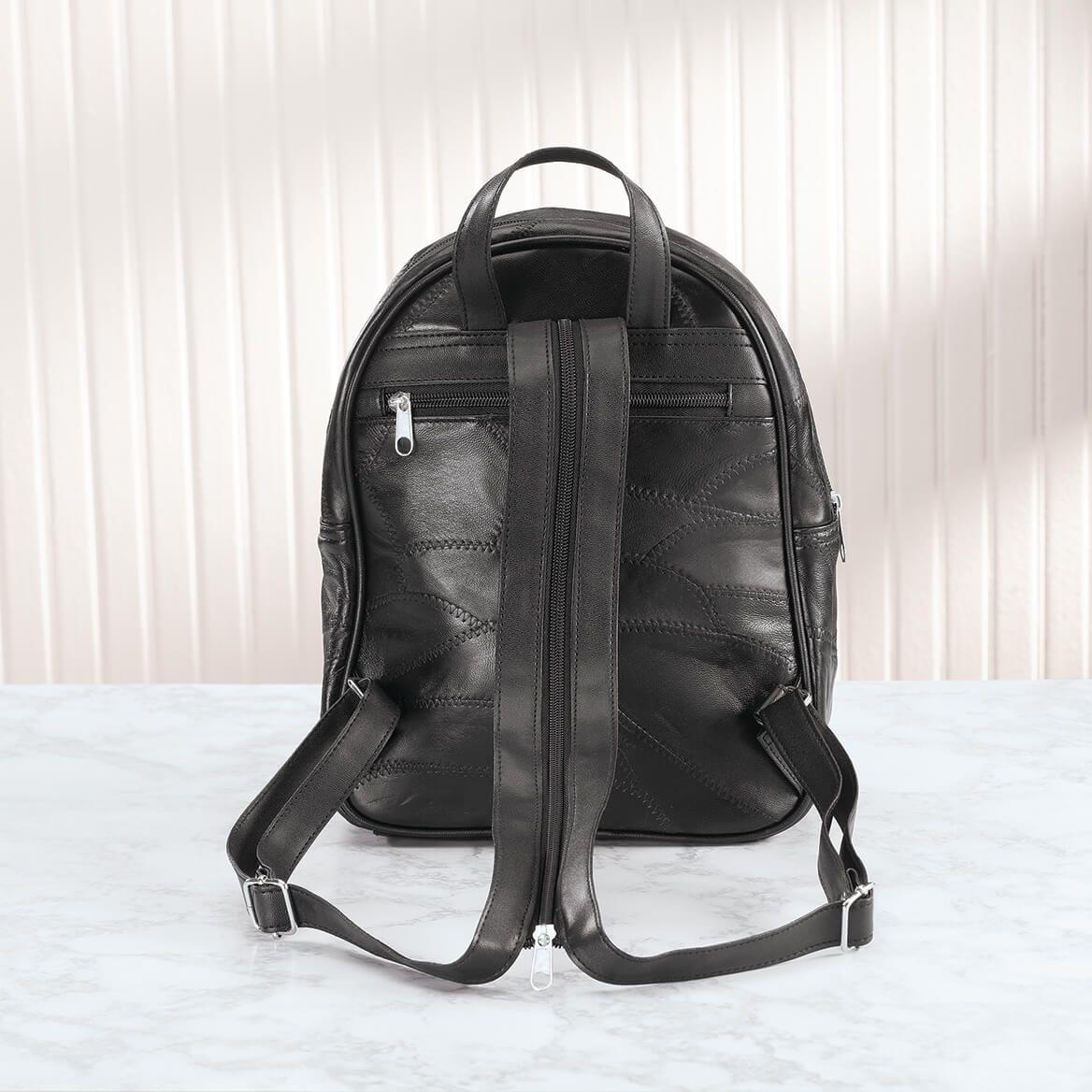 B.Amici™ Liz RFID Leather Backpack-367443