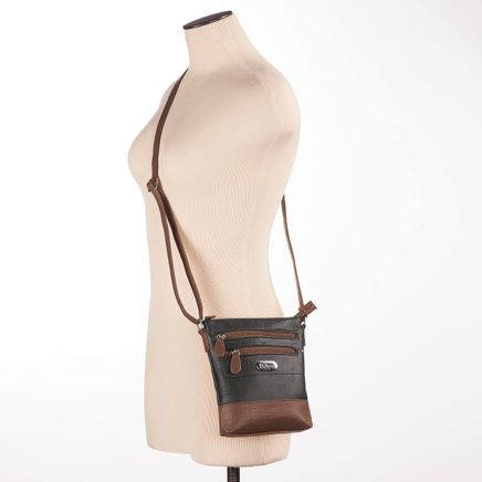 B.Amici™ Bianca RFID Leather Crossbody Bag-367445