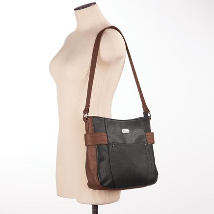 B.Amici™ Emily RFID Essential Leather Shoulder Bag-367450