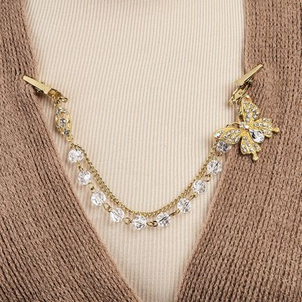 Butterfly Sweater Clip-367467