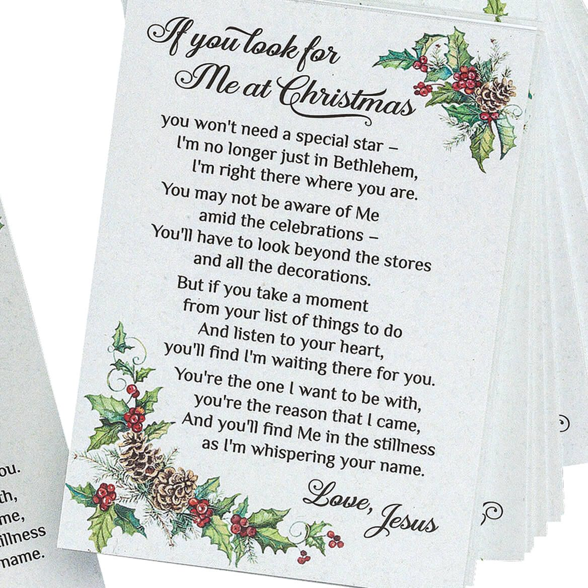If You Look For Me Pocket Cards Set of 40-367557