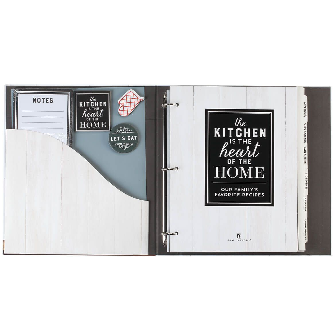 The Kitchen is the Heart of the Home Organizer-367736
