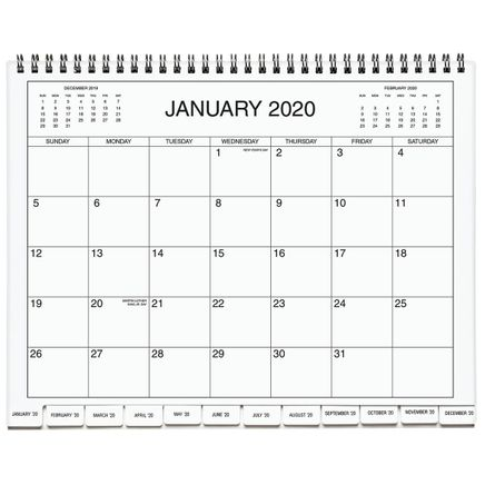 5 Year Calendar Diary 2020-2024 Blue-367848