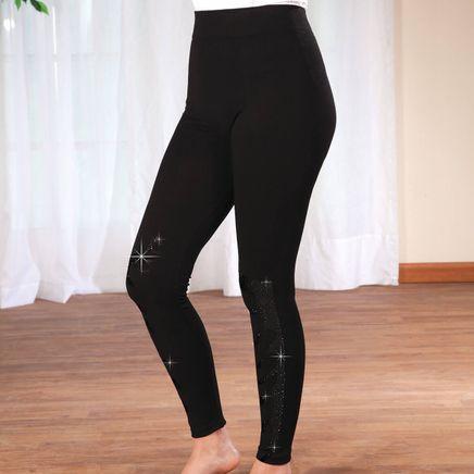 Black Jeweled Leggings-368084