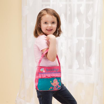 Personalized Stephen Joseph® Quilted Mermaid Purse-368140
