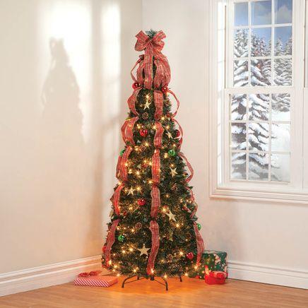 6-ft. Plaid Pull-Up Tree-368143