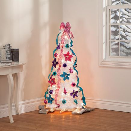 4' Jewel Tone Pull Up Tree by Holiday Peak™-368145