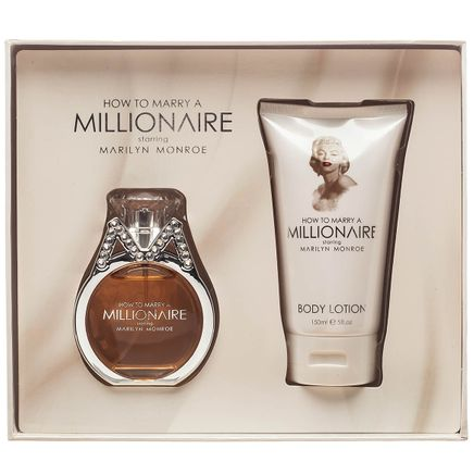 Marilyn Monroe How to Marry a Millionaire EDP and Lotion Set-368294