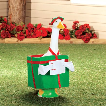 Christmas Present Goose Outfit-368382