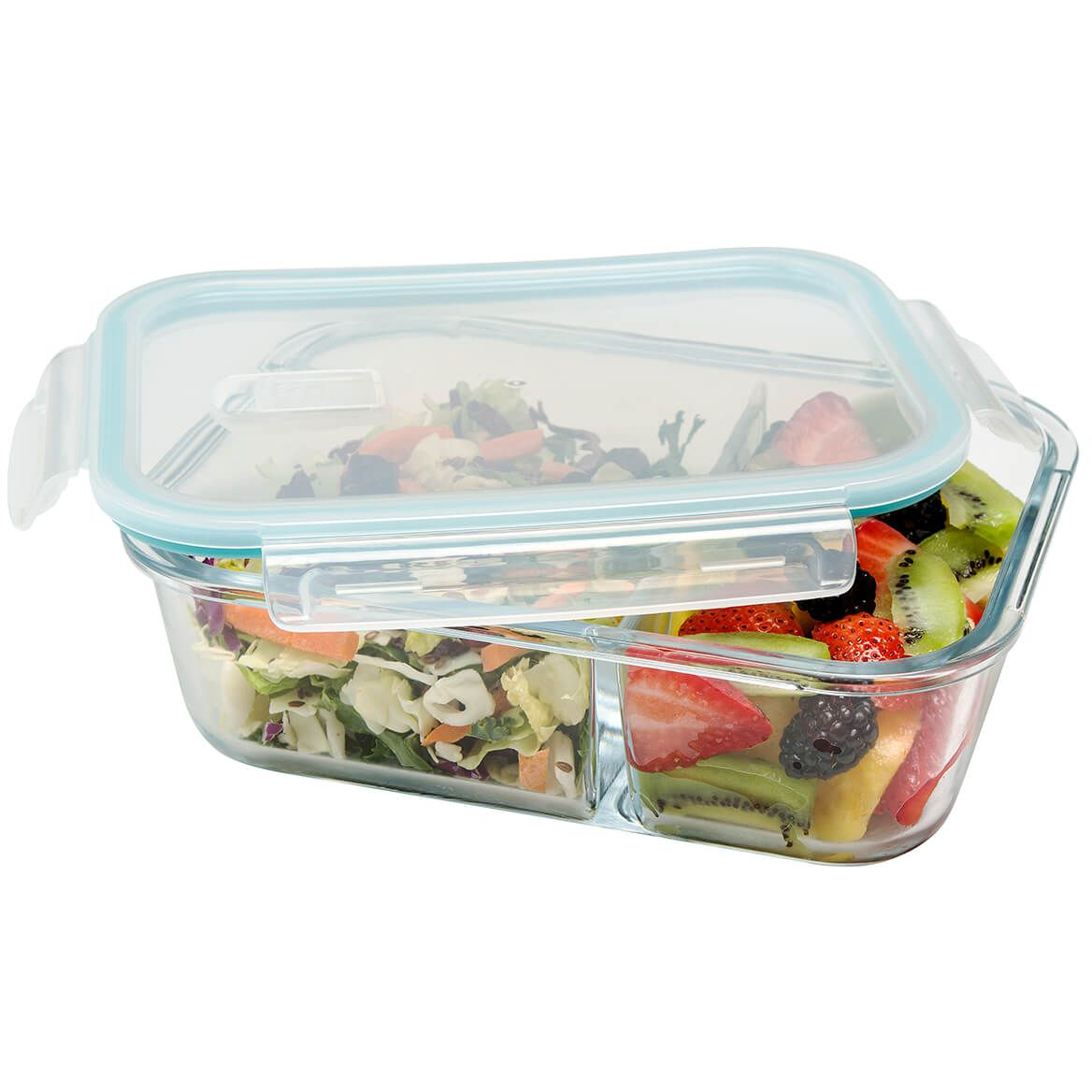 Seal & Lock Glass Food Storage by Chef's Pride-368392
