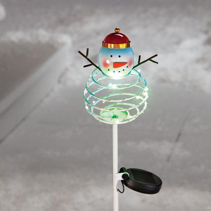 Solar Snowman Stake by Fox River™ Creations-368423