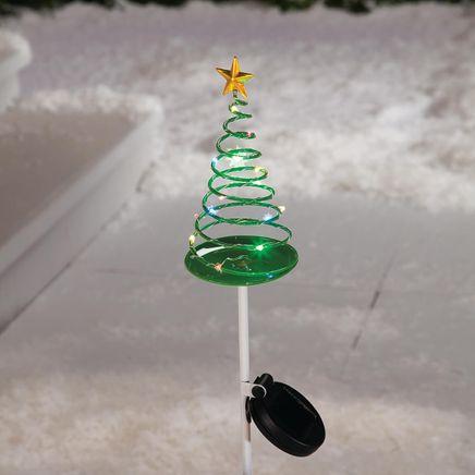 Solar Christmas Tree Stake by Fox River™ Creations-368424