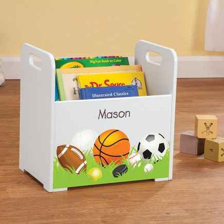 Personalized Sports-Themed Book Caddy-368442