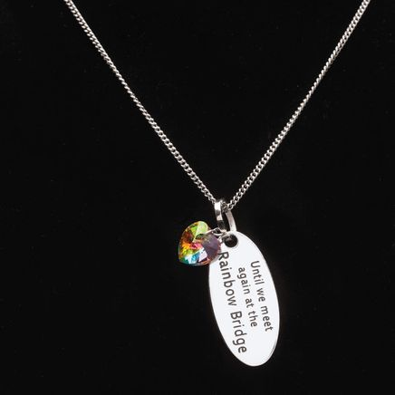 Personalized Rainbow Bridge Necklace-368480