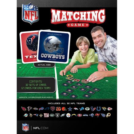NFL Matching Game-368505