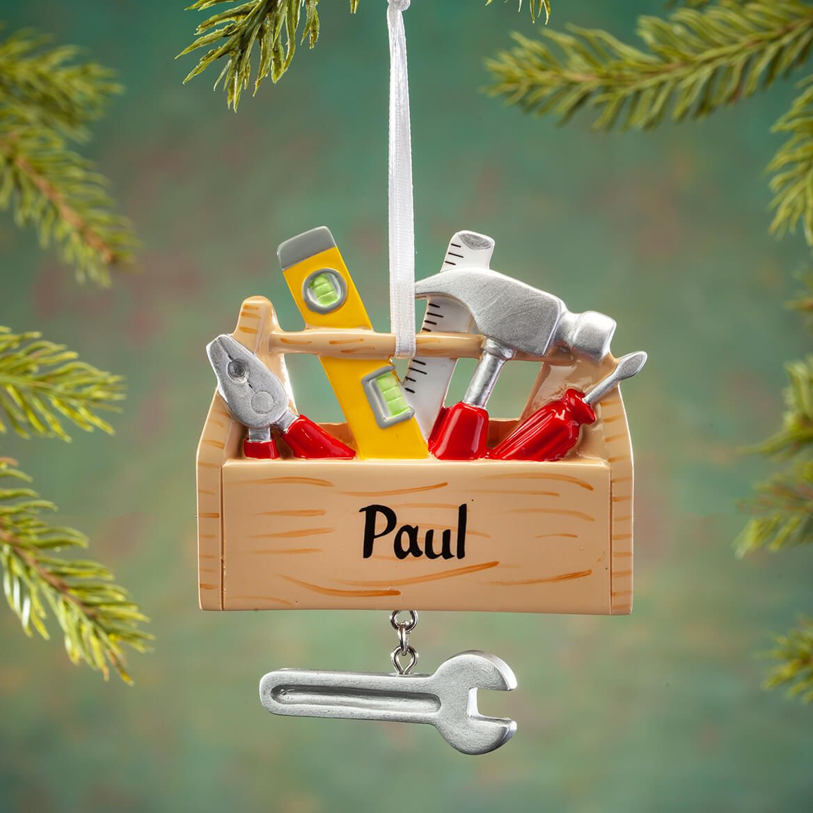 Personalized Tool Box Ornament-368519