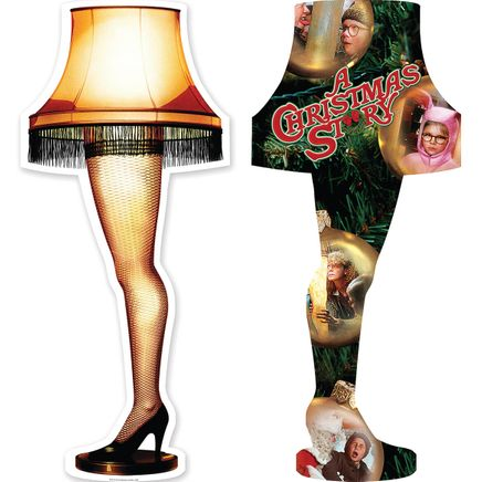 A Christmas Story Two-Sided Leg Lamp Puzzle-368744