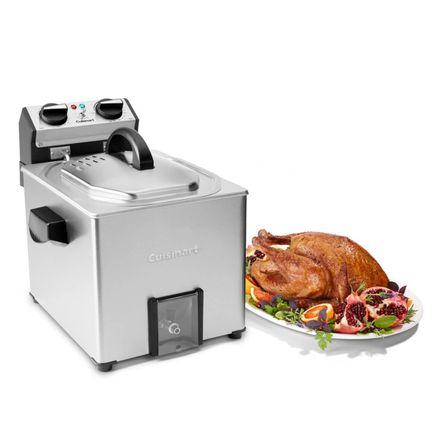 Cuisinart Extra Large Stainless Steel Rotisserie Fryer-368761