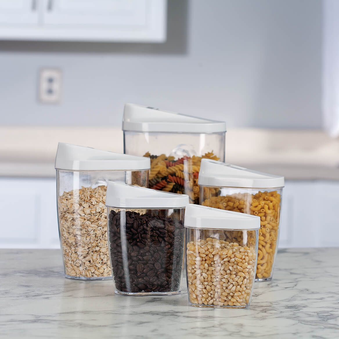 Store and Pour Storage Containers 5 Piece Set-368830