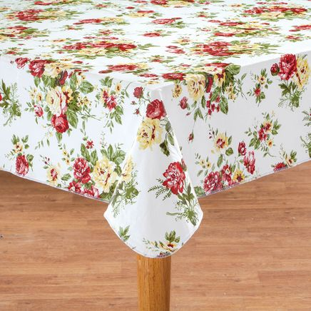 Country Rose Vinyl Tablecover by Chef's Pride-368834