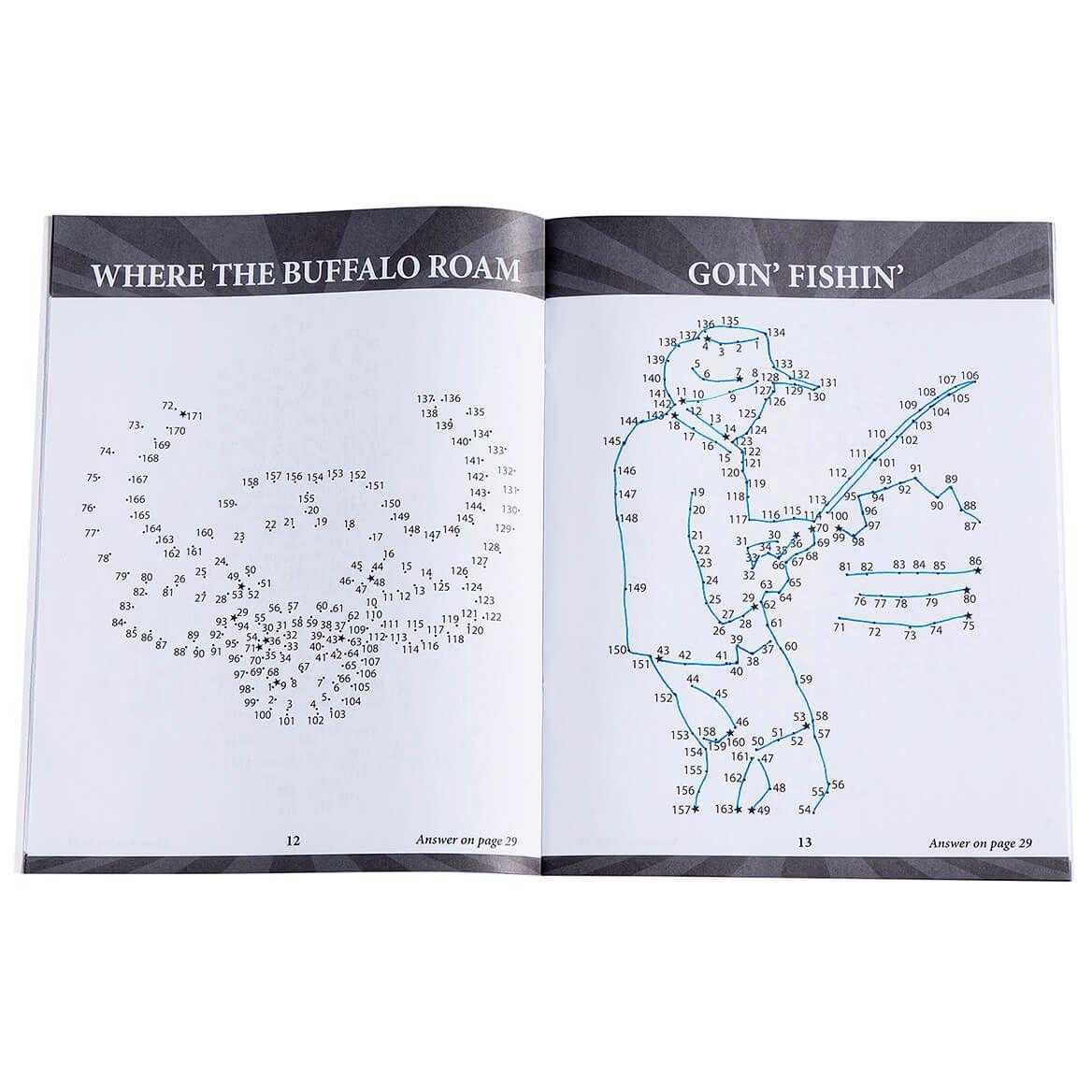 Brain Games® Large Print Americana Dot-to-Dot Set of 5-368866