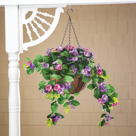 Fully Assembled Pansy Hanging Basket by OakRidge™-368881