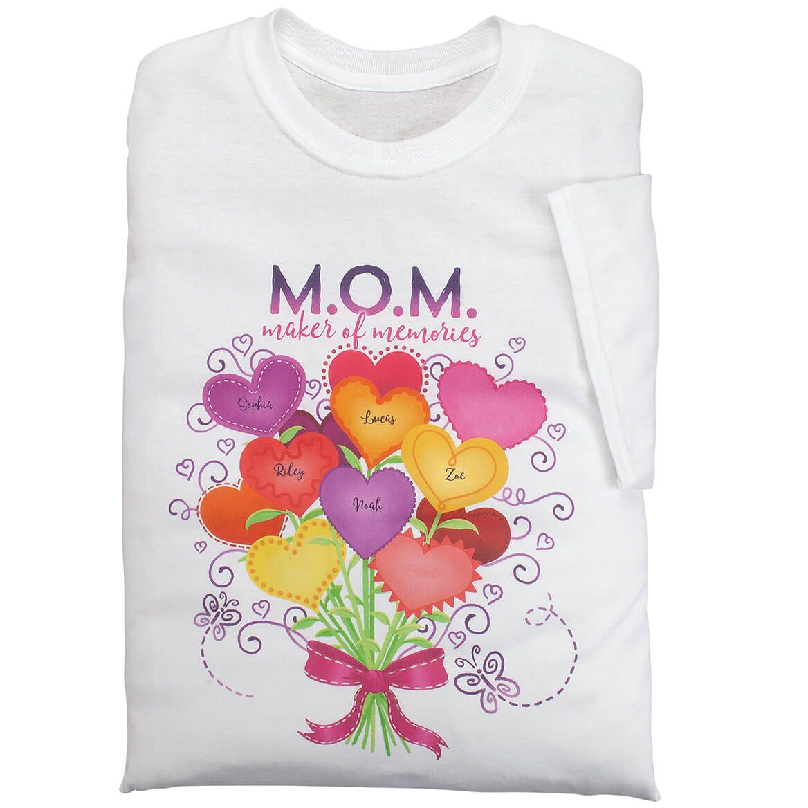 Personalized M.O.M. Maker of Memories T-Shirt-369030