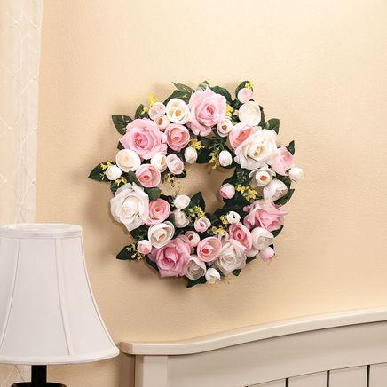 Vintage Rose Wreath-369050