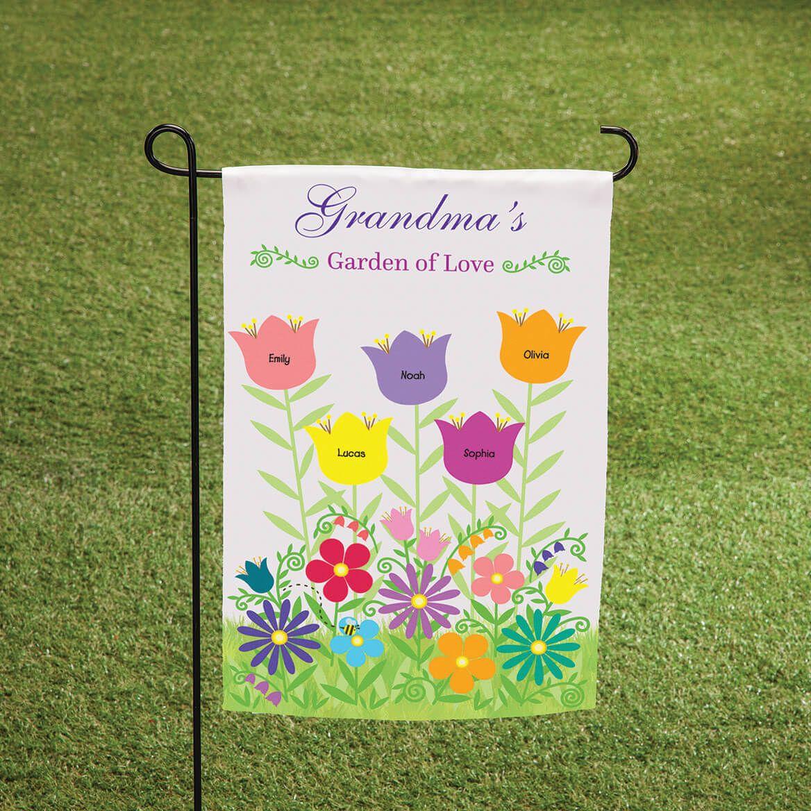 Personalized Garden of Love Garden Flag-369060