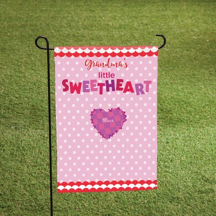 Personalized Valentine Garden Flag-369064