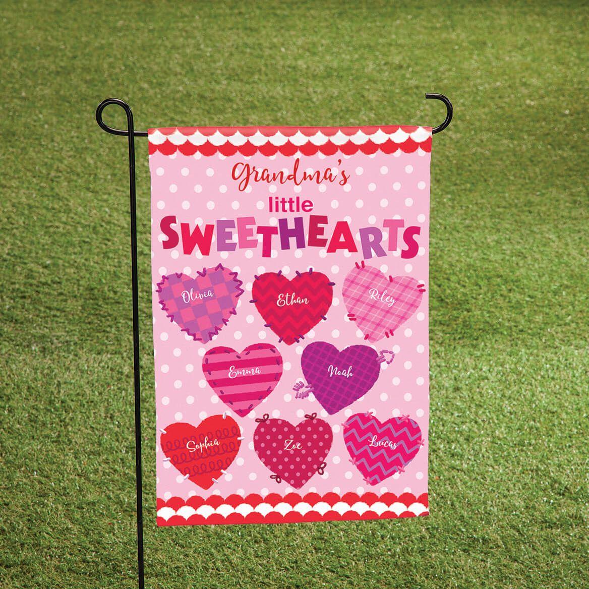 Personalized Valentine Garden Flag-369064