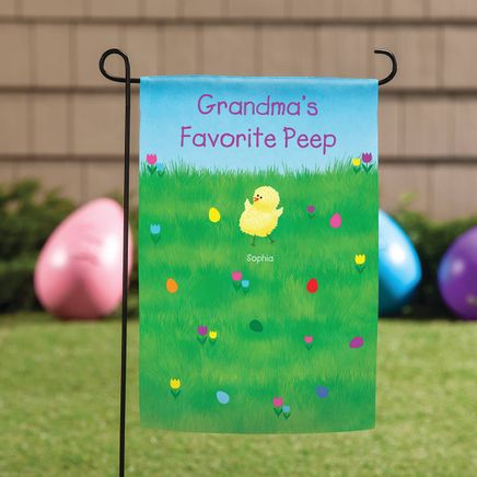 Personalized Easter Garden Flag-369066