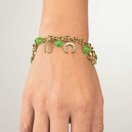 Good Luck Charm Bracelet with Magnetic Closure-369075