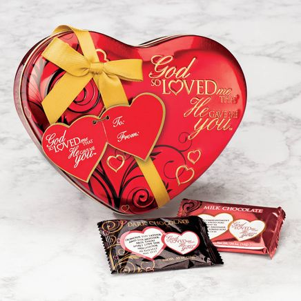 God So Loved Me That He Gave Me You™ Assorted Chocolate Tin-369125