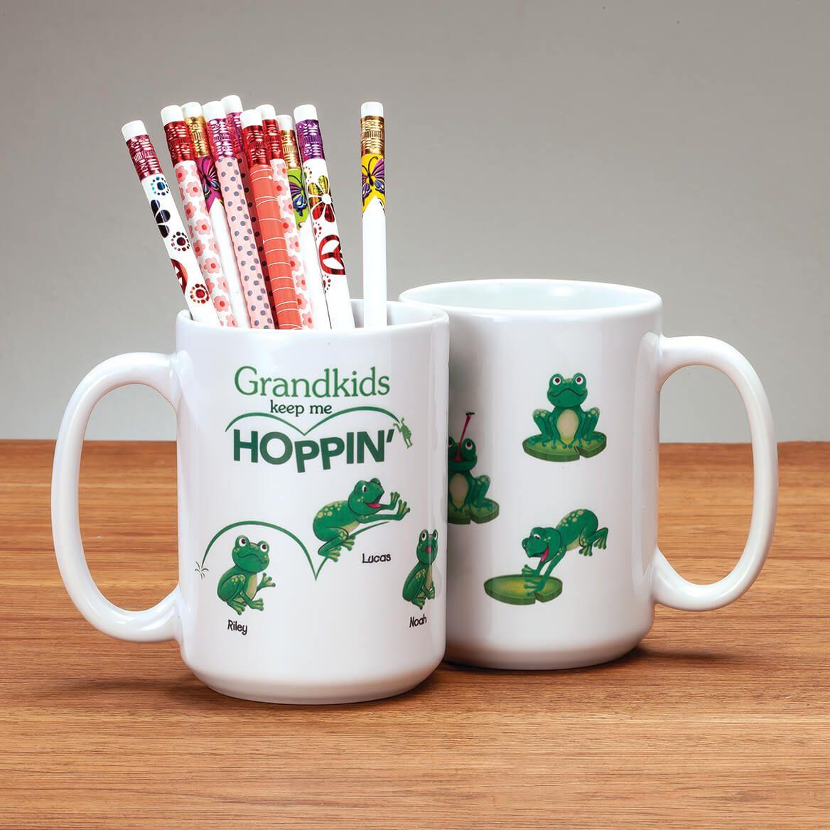 Personalized Grandkids Keep Me Hoppin' Mug-369378