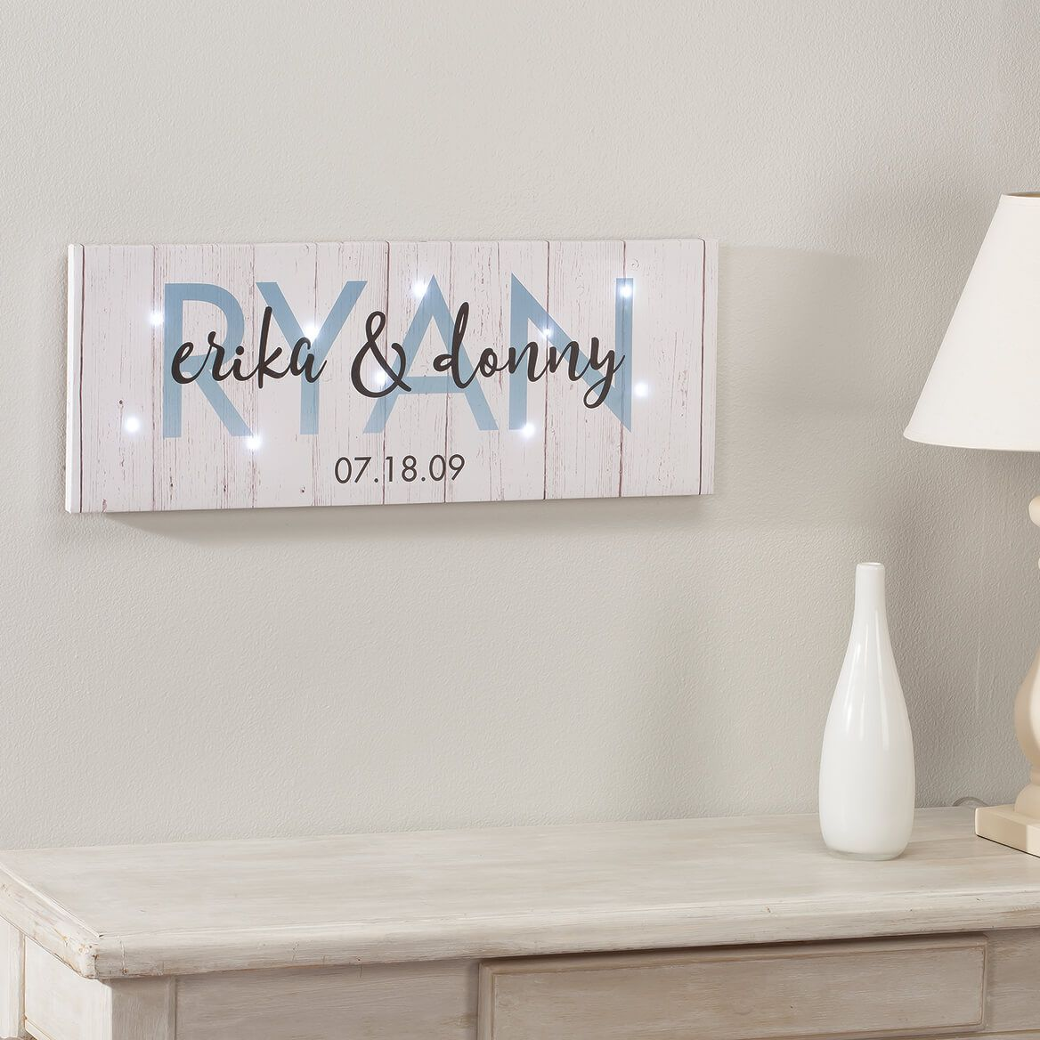 Personalized Last Name Canvas-369487