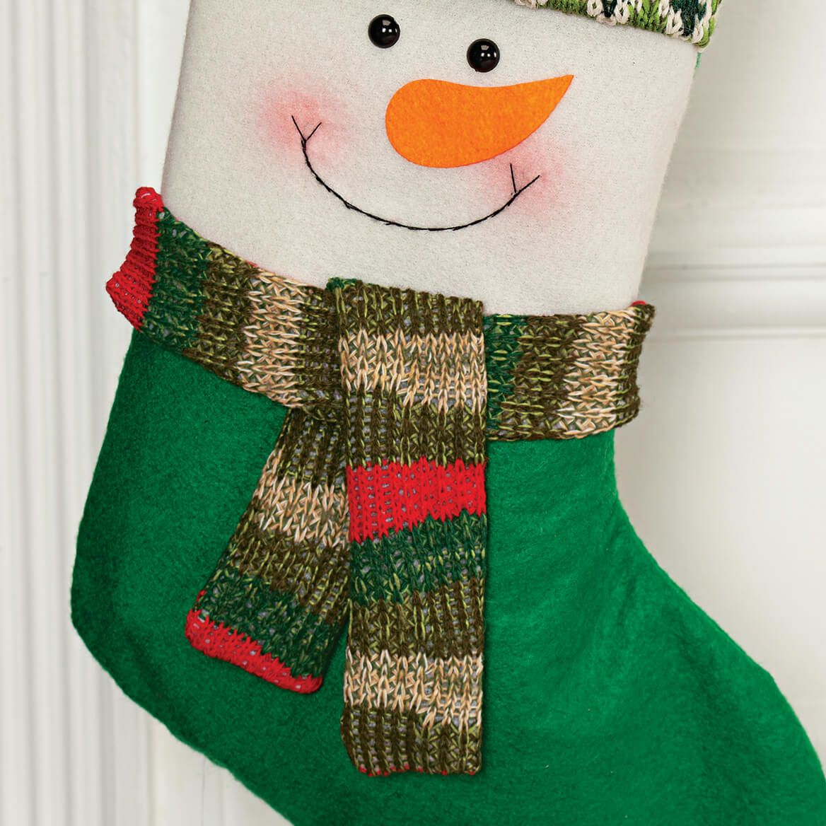 Personalized Snowman Stocking-369639