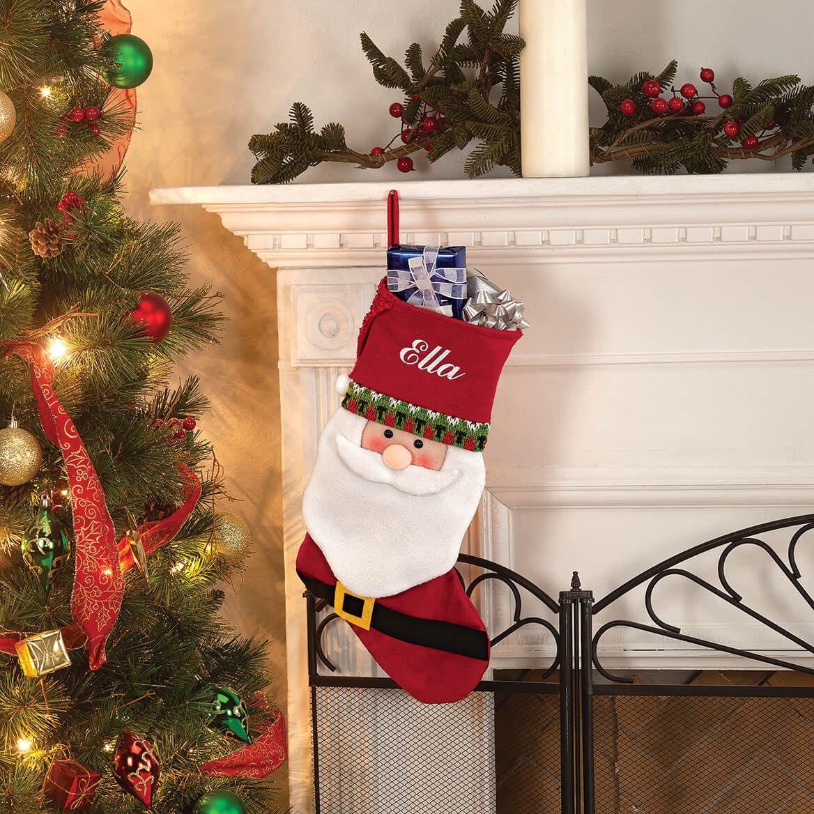 Personalized Santa Stocking by Holiday Peak™-369640