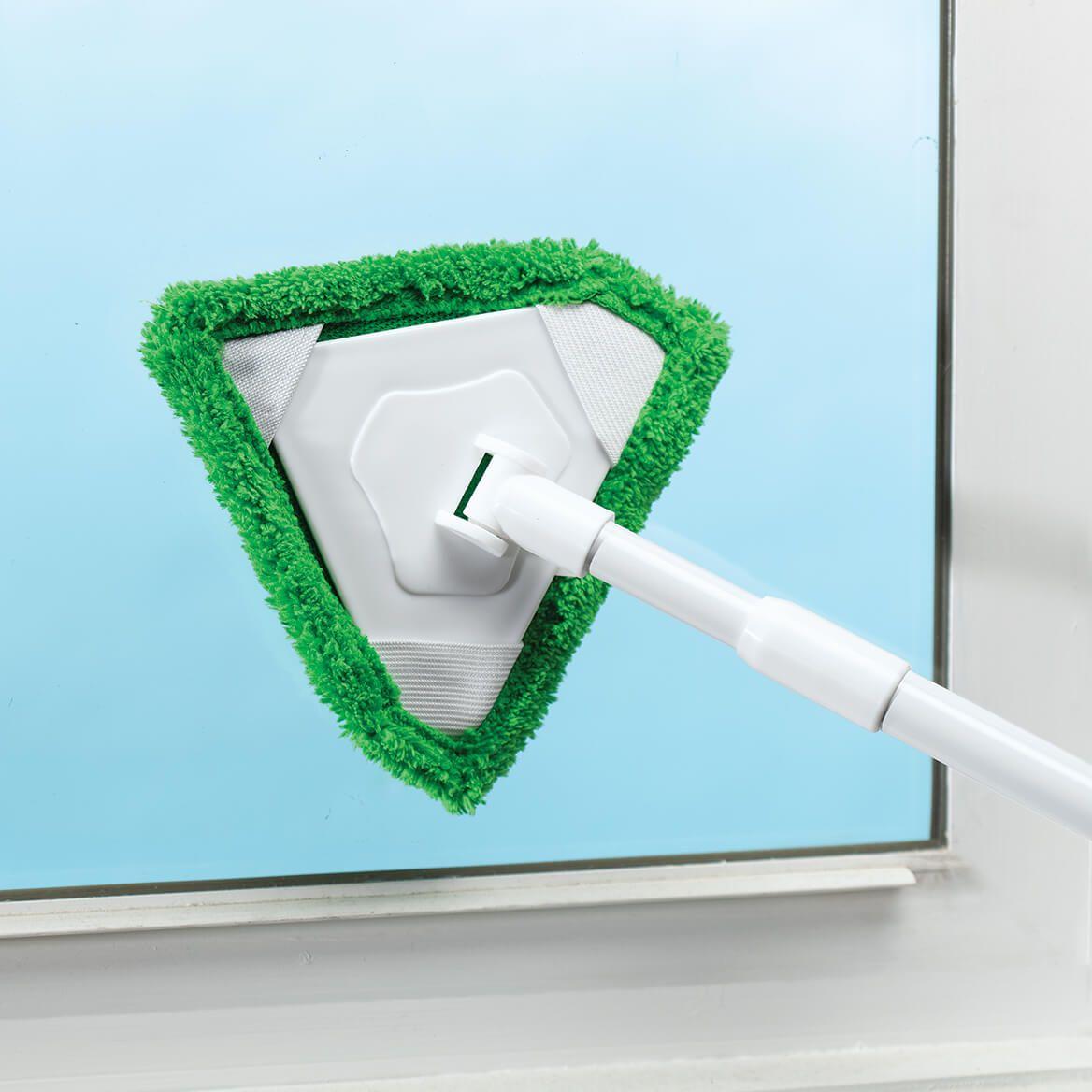 Telescopic Multi-Purpose Triangular Cleaner with 3 Heads-369655