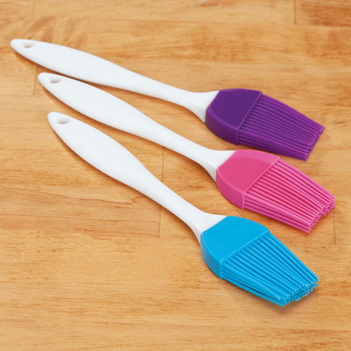 Silicone Brushes, Set of 3-369674