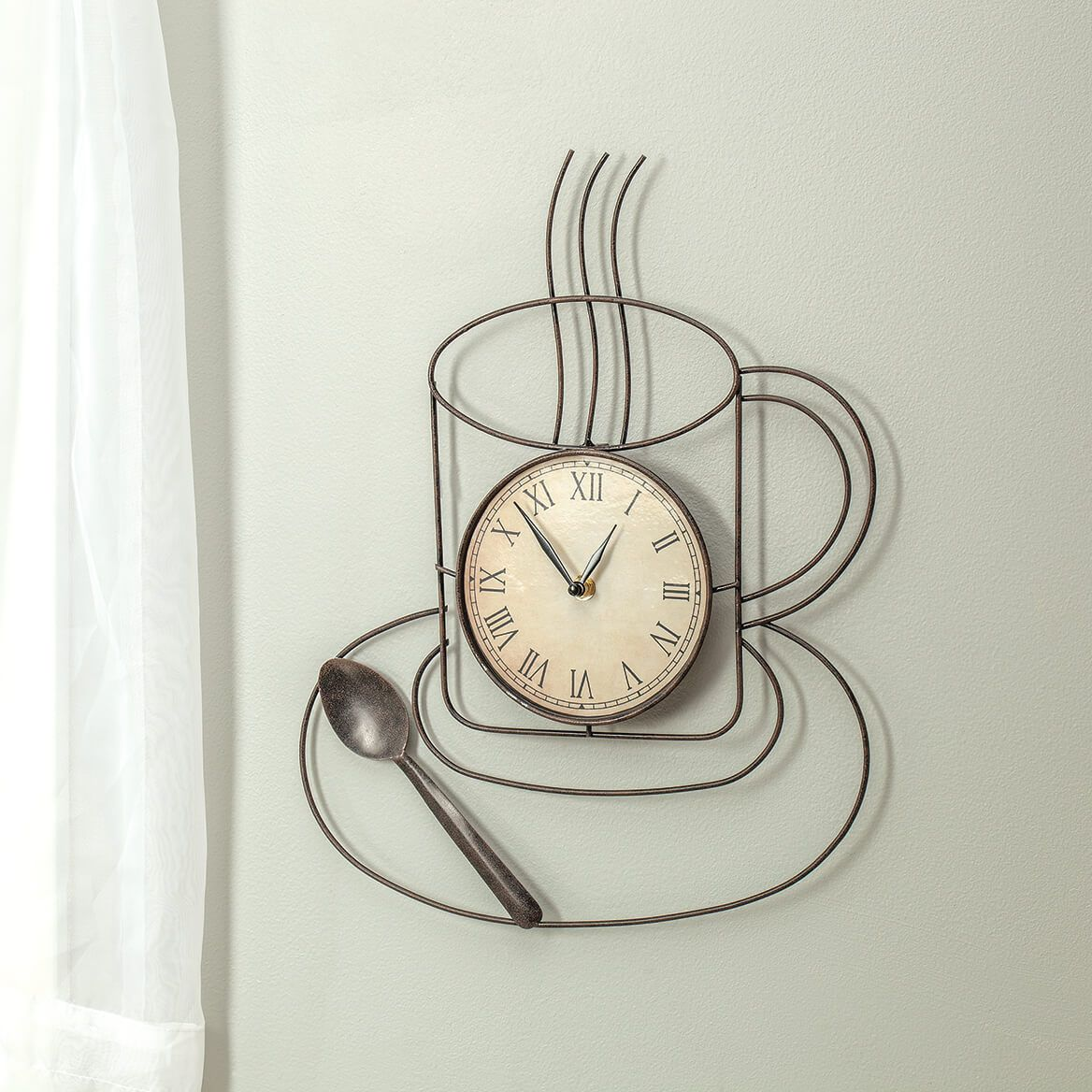 Coffee Kitchen Clock-370373